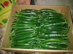 Перец Чили красный и перец Чили зелёный