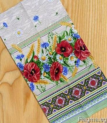 Скатерти, полотенца в украинском стиле