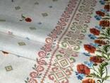 Скатерти, полотенца в украинском стиле - фото 3