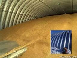 Зернохранилища напольного типа фермерские и припортовые - фото 2