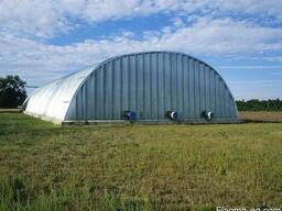 Зернохранилища напольного типа фермерские и припортовые - фото 3