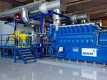 Б/У газовый двигатель MWM TCG 2020 V20, 2000 Квт, 2018 г. в. - фото 1