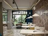 Design for office, bank, restaurant, bar, beauty salon - фото 1