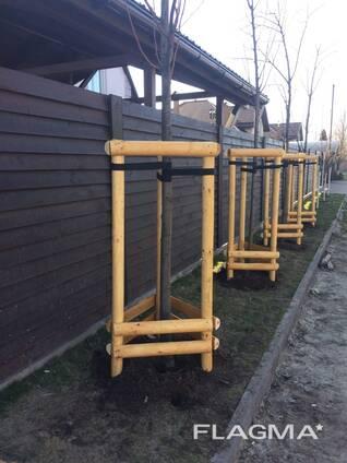 Machine Rounded poles ( Ukraine) виноградный столбик