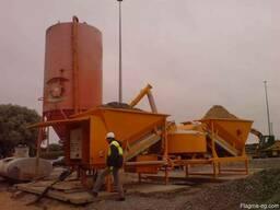 Мобильный бетонный завод Sumab F-2200 (60-80 м3/час) Швеция - фото 2