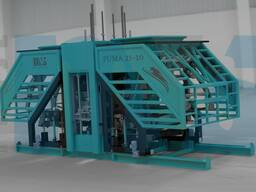 MVS2510 Concrete Block and Paverstone Making Machines