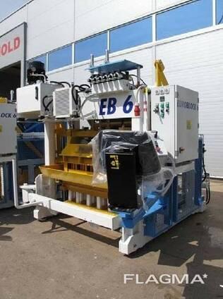 Блок-машина Мобильная для производства бордюров, блоков Е6