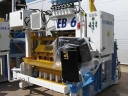 Блок-машина Мобильная для производства бордюров, блоков Е12